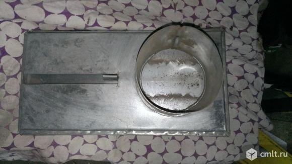 Шиберная задвижка для воздуховода. Фото 4.