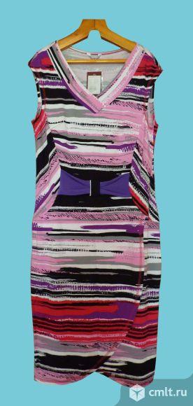 Новое летнее платье, 48 р-р. Фото 1.
