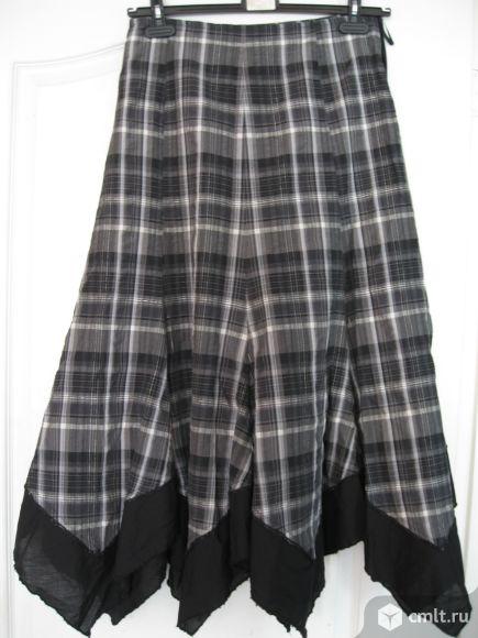 Продам клетчатую юбку