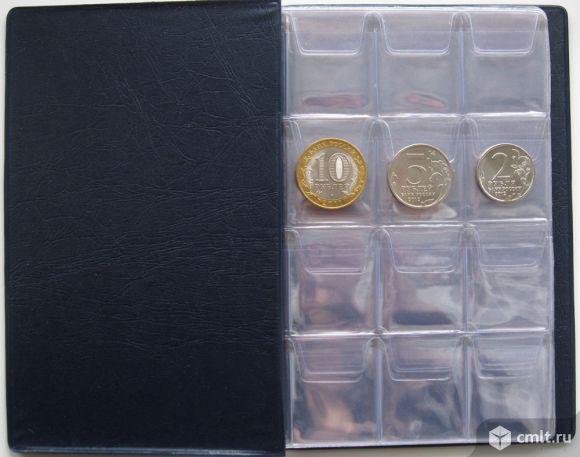 Альбомы для монет (монетники) на 72, 120, 144 ячейки. Фото 1.