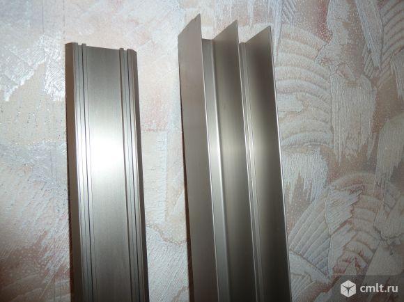 Для шкафа-купе профили 1.55х2.8 м алюминиевые, цв. шампань
