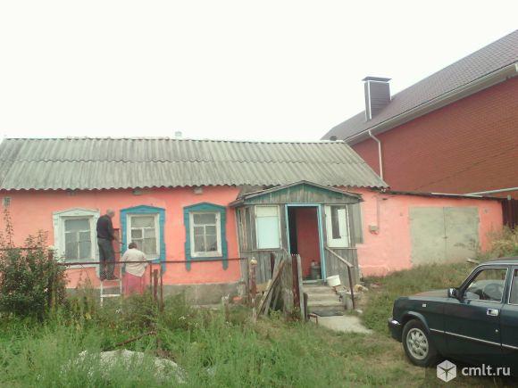 Дом 40 кв.м с. Девица Семилукский р-н 50- лет октября. Фото 1.