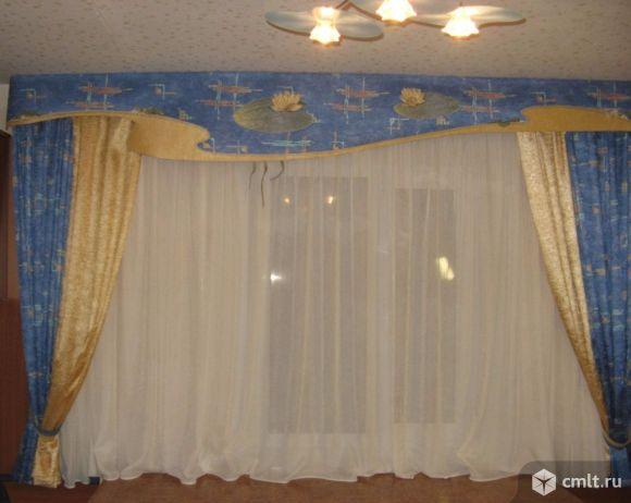 Комплект штор в детскую/высота 1780см. Фото 1.