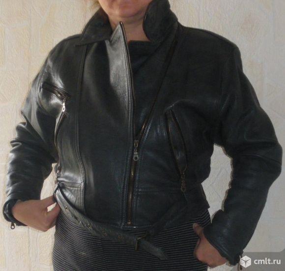 Куртка кожанная жен.. Фото 1.