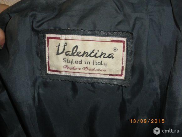 Куртка кожанная жен.. Фото 3.