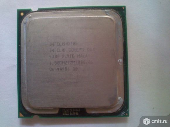 Процессоры intel core 2 duo. Фото 1.