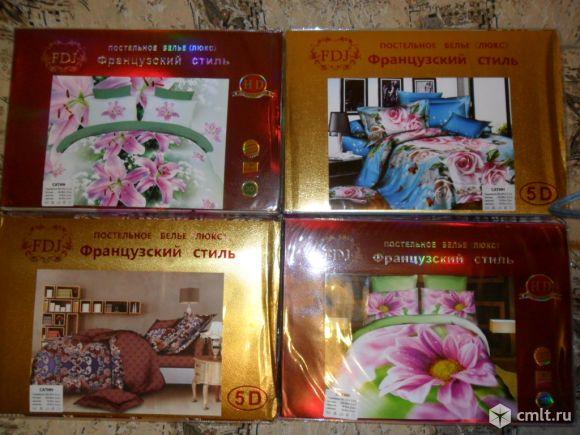 Комплекты постельного белья новые в упаковках евро 15шт.