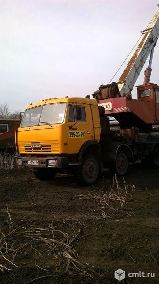 Автокран КамАЗ - 2004 г. в.