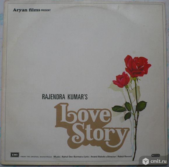 "Грампластинка (винил). Гигант [12"" LP]. Aryan Films present Rajendra Kumar's film ""Love Story"".. Фото 1."