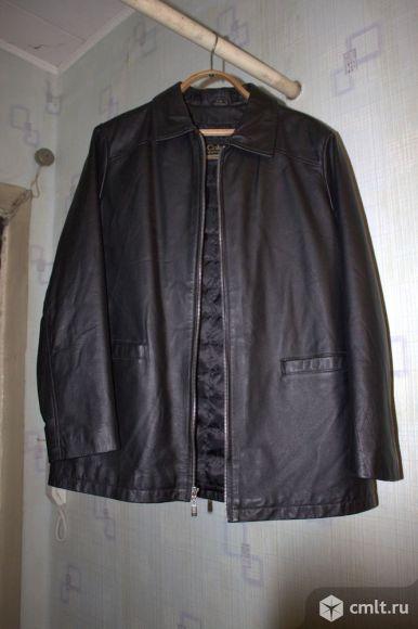 Мужская куртка Colambia из натуральной кожи, L. Фото 1.