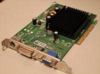 Продам видеокарту с разъемом AGP, фирма Leadtek, модель A6200 TDH <на графическом чипе GeForce 6200> Видеокарта в отличном состоянии, с пассивным охлаждением (бесшумная).