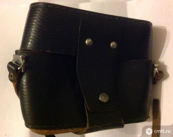 Кожаный чехол для фотоаппарата зенит. Фото 2.
