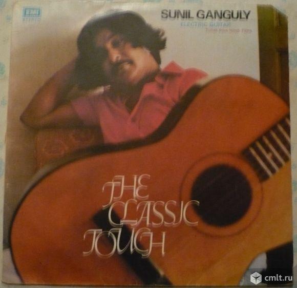 "Грампластинка (винил). Гигант [12"" LP]. Sunil Ganguly (electric guitar). The Classic Touch. Индия.. Фото 1."