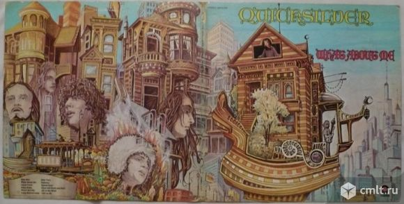 "Грампластинка (винил). Гигант [12 LP""]. Quicksilver Messenger Service. What About Me. 1970. США.. Фото 1."