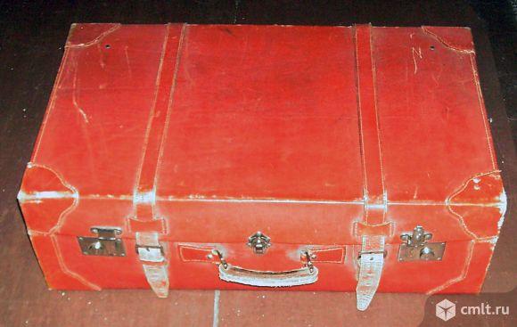 Кожаный чемодан продаю.. Фото 1.