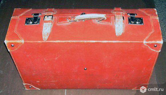 Кожаный чемодан продаю.. Фото 3.