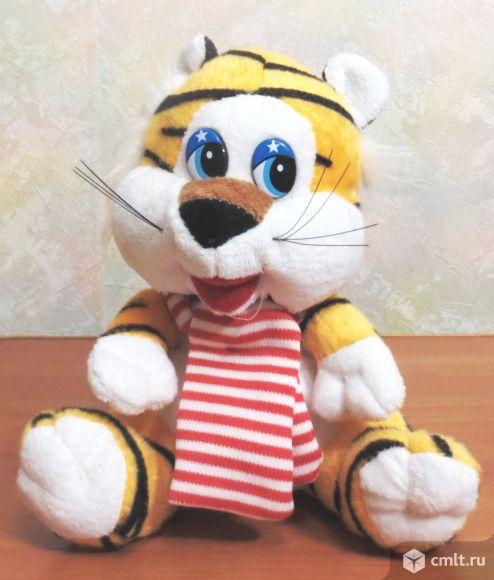 Мягкая игрушка веселый тигренок 18 см