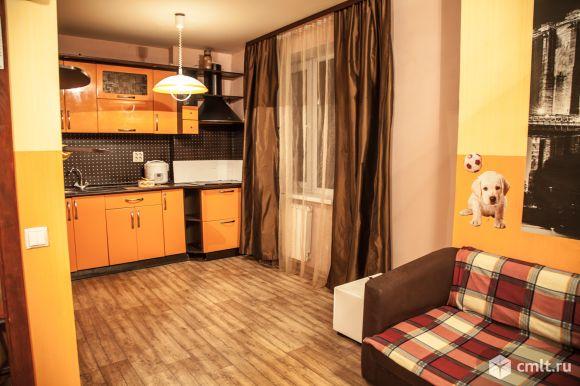 1-комнатная квартира студия 42 кв.м. Фото 1.