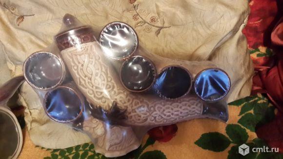 Подарочный керамический набор. Фото 1.