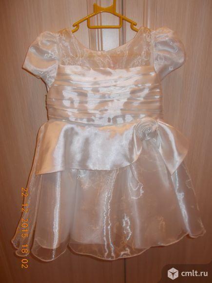 Платье новогоднее на утренник р98-104