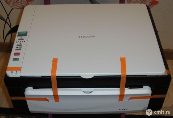 Мфу лазерное Ricoh Aficio SP 100SU / SP 100SF. Фото 1.