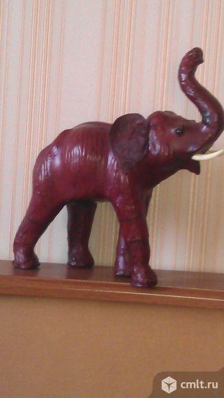 Натуральная Кожа. Индийский Слон Кожаный