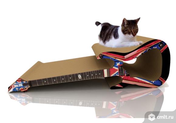 когтеточка гитара для котят и кошек