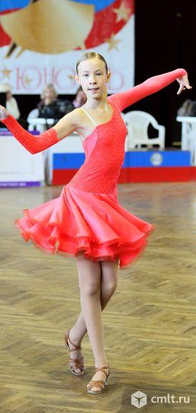 Платье для спортивных бальных танцев Латина