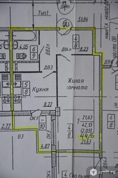 Олимпийский бульвар Однокомнатная квартира