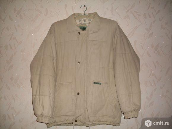 Куртка на синтепоне отдам за вкусняшку р-р 50-52-54