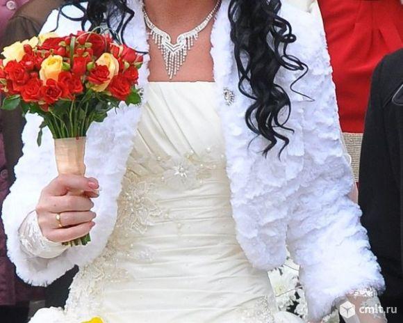Колье с серьгами и диадема. Фото 1.