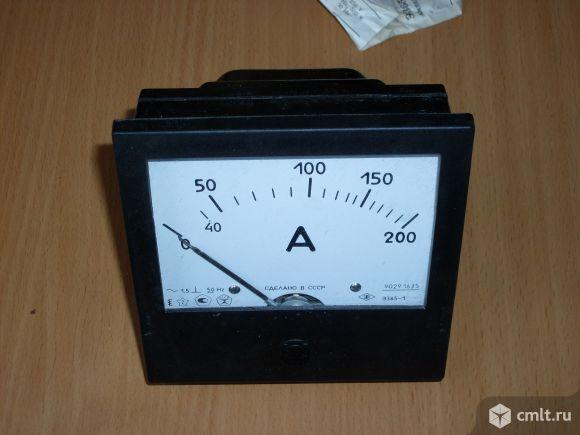 Продам новый Амперметр и Вольтметр Э365. Фото 1.
