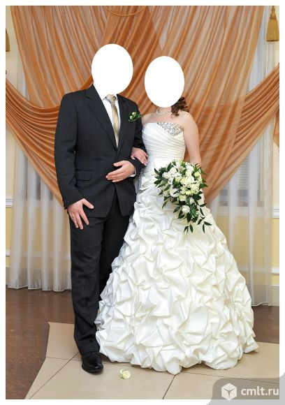 Красивое свадебное платье. Фото 3.
