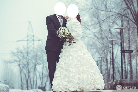Красивое свадебное платье. Фото 1.