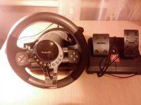 8-позиционный, рычаг переключения передач, угол поворота 180град, режим вибрации руля. Новый, но без упаковки.