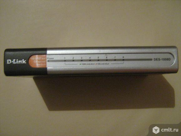Коммутатор неуправляемый D-Link DES-1008D