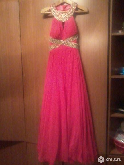 Платье вывпускное