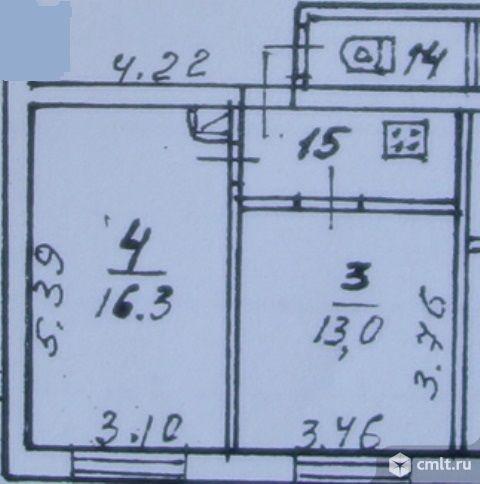 Две комнаты 29,3 кв.м