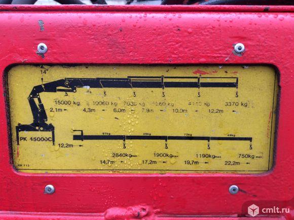 Автокран-манипулятор на базе МАЗ-6303 2007 г. в