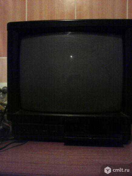 Телевизор кинескопный цв. Shivaki. Фото 1.