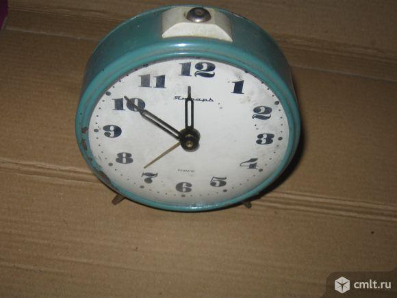 "Часы-будильник ""Янтарь"". Фото 1."