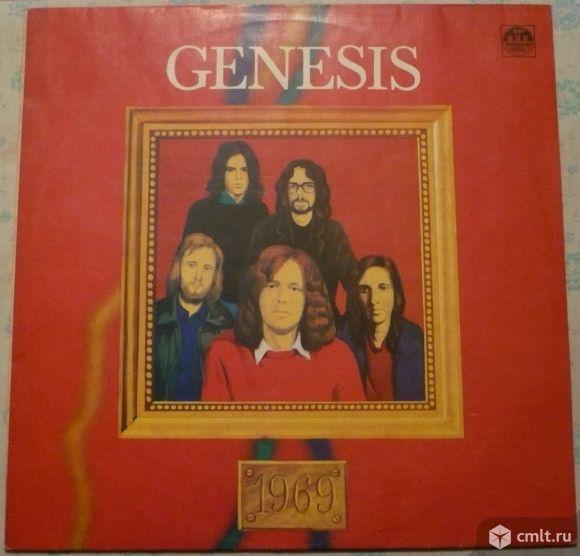 "Грампластинка (винил). Гигант [12"" LP]. Genesis. 1969 [From Genesis To Revelation]. Россия.. Фото 1."