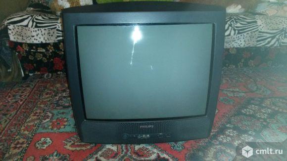 Телевизор кинескопный цв. Филипс 21 рт 1654-58. Фото 2.