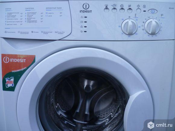Запчасти для стиральной машины Indesit WISL 82, глубина 40 см, загрузка 4,5 кг, отжим 800 оборотов.. Фото 1.