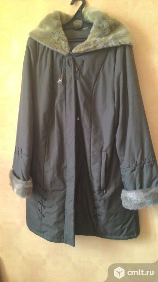 Куртка осенняя, KRISTY, с капюшоном .размер 50, в хорошем состоянии.