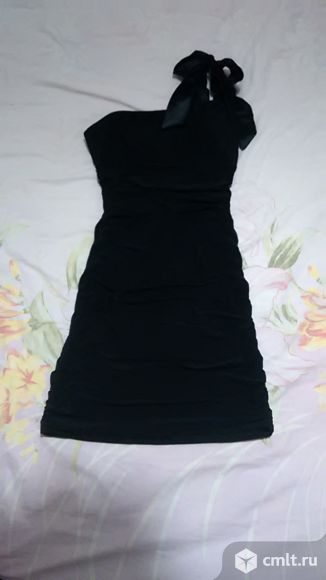 Платье Черное коктельное