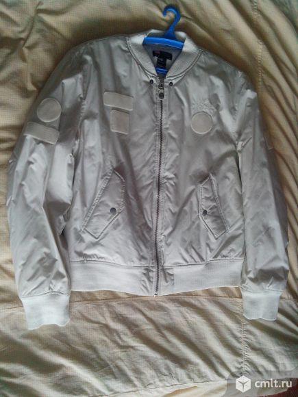 Diesel куртка-бомбер белая, размер XL (52)