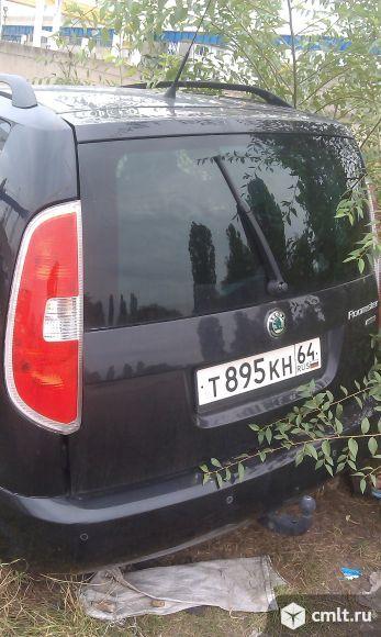 Для Skoda-Roomster 2011 г. в. двигатель 1.2, МКПП, салон. Фото 1.