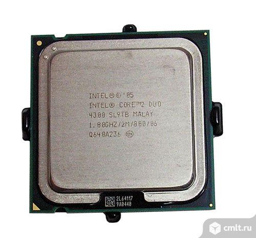 Процессоры 775  Intel Core 2 Duo и Pentium