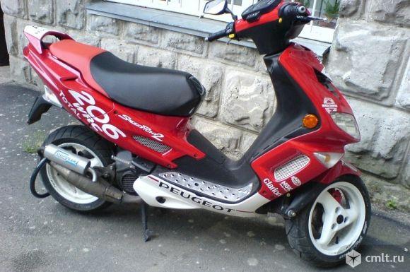 Поршневая скутор 4т